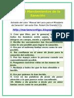 LOS 10 MANDAMIENTOS DE LA SANACIÓN