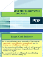 Cash Conversion Models