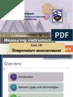 4 Temperature Measurement