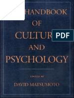 David Matsumoto-The Handbook of Culture and Psychology (2001)
