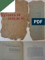 1934, Revista de Educação. Aulas Ativas.