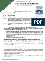 Online.fpsc.Gov.pk Fpsc Gr Reports Gr Phase1 Ac 2015