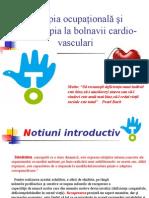 Terapia Ocupaţională Şi Ergoterapia La Bolnavii Cardio-Vasculari