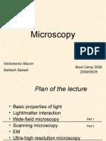 Microscopy 1