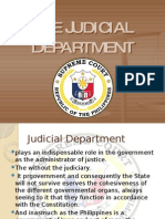 Chapter 12 the Judicial Department