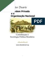 A ordem privada e a organização nacional