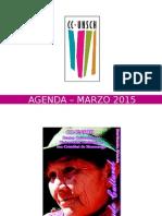 - Agenda – Marzo 2015