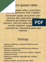 Sindrom Gawat Nafas