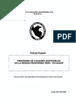 CIUDADES SOSTENIBLES - PERU