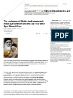 The root cause of Muslim backwardness in Indian subcontinent and the sad story of Sir Syed Ahmed Khan - by iqbal.pdf