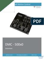 Galil DMC-500x0 Data Sheet 03-15