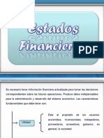Finanzas Estados Financieros PPT