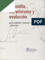 Alejandro Rosas-Filosofía, Darwinismo y Evolución (2007)