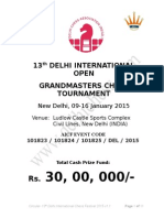 Delhi Open 2015 Prospectus New