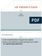 Concept of Production