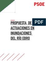 Propuesta del PSOE de actuaciones en el río Ebro (PDF)