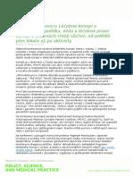 TZ Pražská Konference Léčebné Konopí a Kanabinoidy Skončila Konsenzem Zainteresovaných Stran