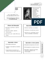 Aula 1 - Psicomotricidade e Aprendizagem Prof João Maffei