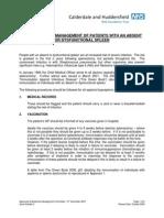 Guideline Immunisasi Post Splenectomy