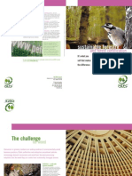 Sustainable Forests and Forest Certification
