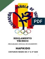 Examen CN Hapkido