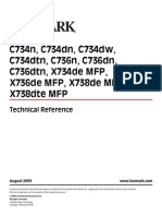 Lexmark C73x Tech Reference