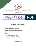 MONOGRÀFIA EPISTEMOLOGIA