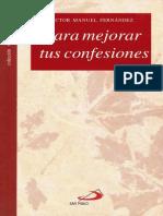 [Victor Manuel Fernandez] Para Mejorar Tus Confesiones