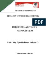 Derecho Maritimo y Aeronautica