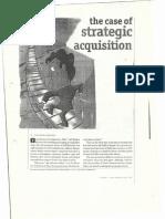 Strategic Aquisitions Case