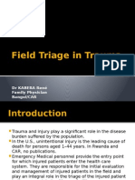 Field Triage in Trauma