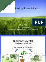 3. Clase (Nutrientes Necesarios Para Los Cultivos)
