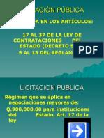 LEY DE COMPRAS LICITACION 2.ppt