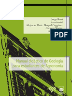 Manual de Geologia Para Estudiantes de Agronomia