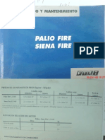 Manual de Uso y Mantto. Palio fire 1.3 16v