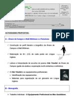 DR2 equipamentos profissionais planificação