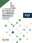 Evolución Tecnológica y Prospectiva de Costes de Las EERR
