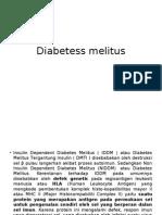 Diabetess melitus