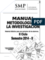 Manual Metodologia 2014 - II