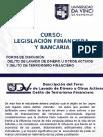 6.2. Foro Delito de Lavado de Dinero y Delito de Terrorismo Financiero