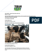 Sale Update Holstein Plaza Online Heifer Sale March 2015 Version 2