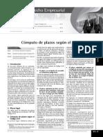 Computo de Plazos de Obras - Codigo Civil