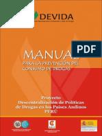Manual de Prevencion Del Consumo de Drogas
