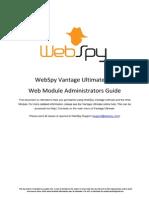 Module Administrators Guide