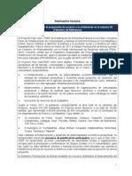 Formulario Propuesta Técnica POTOSÍ1-1