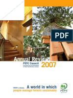 PEFC Annual Review 2007