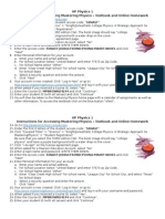 ap1 mastering physics access instructions