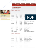 MIT Key Dates 14