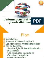 L'internationalisation de la grande distribution