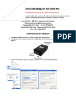 Configuracion Ubiquiti Airgrid Ver 1.0